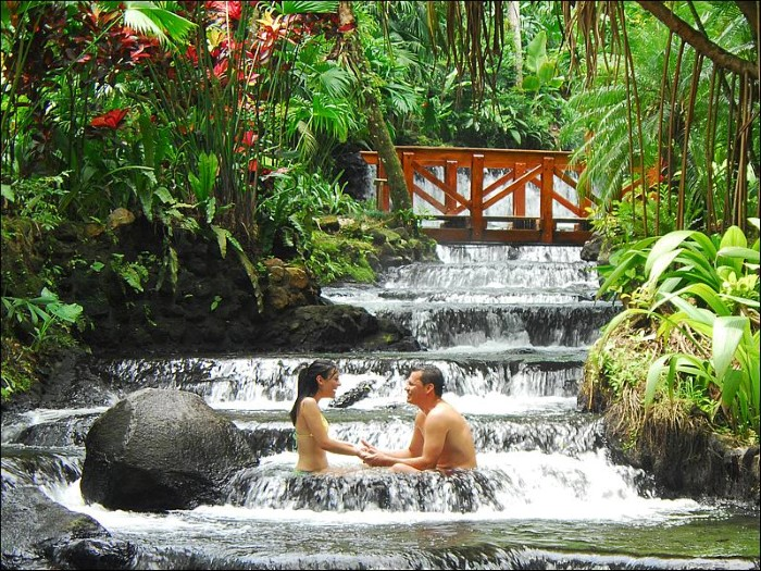 Tabacon Hot Springs - Costa Rica