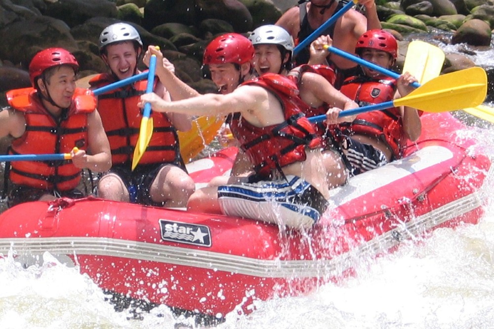 Rafting in cost rica