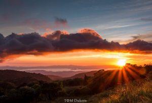Monteverde sunset by tomdukers