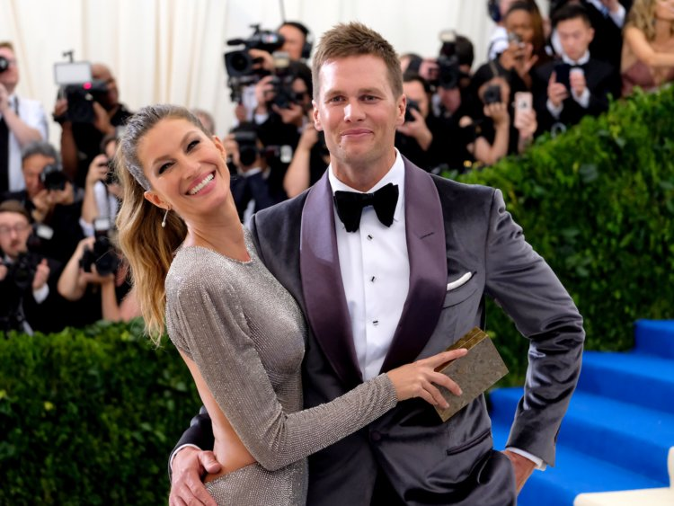 Tom Brady and Wife Gisele Bundchen